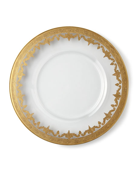 Vetro Gold Charger Plate