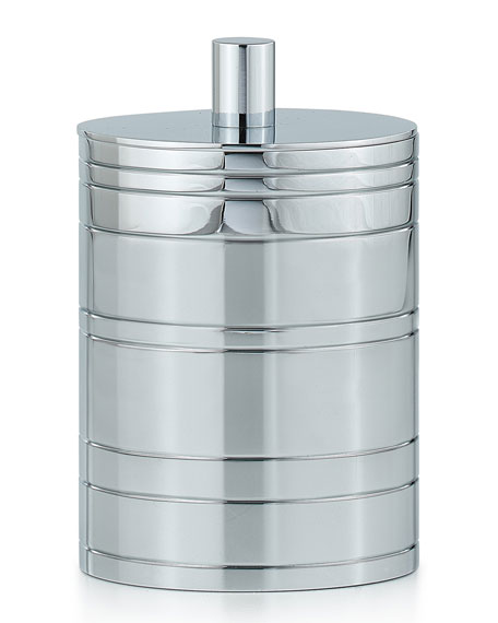 Rings Polished Chrome Canister