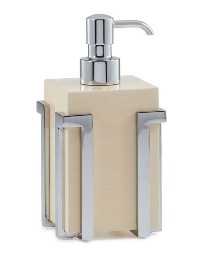 Embrace Ash Chrome Pump Dispenser
