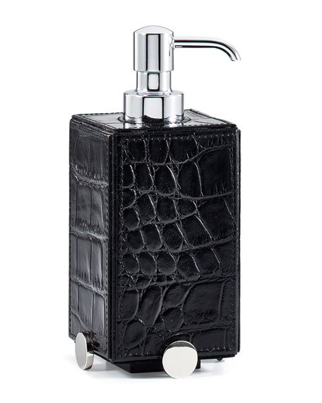 Discus Black Pump Dispenser