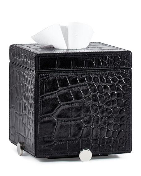 Labrazel Discus Black Tissue Box Cover