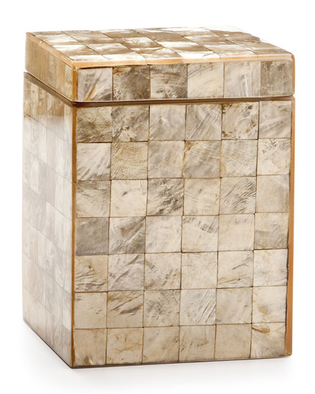 Capiz Champagne Canister
