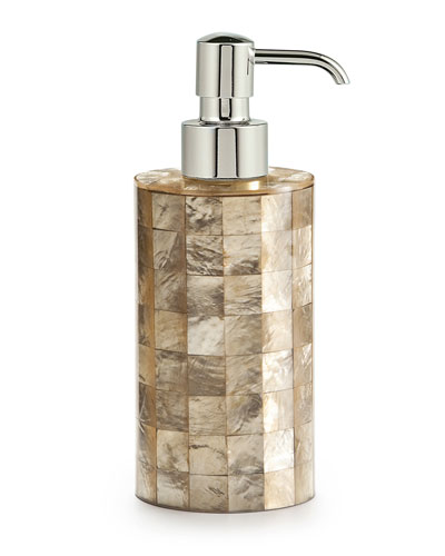 Capiz Champagne Pump Dispenser