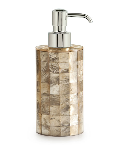 Labrazel Capiz Champagne Pump Dispenser