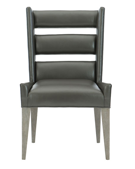 Bernhardt Ryder Leather Dining Side Chair