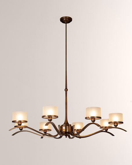 French Curve Chandelier