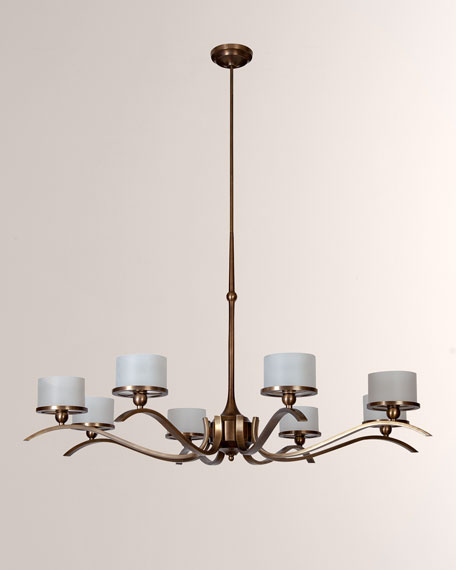 Global Views French Curve Chandelier