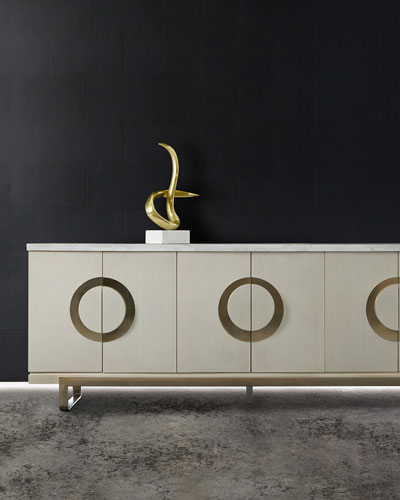 Sofia 6-Door Entertainment Console