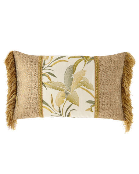 Botanical Piece Oblong Pillow