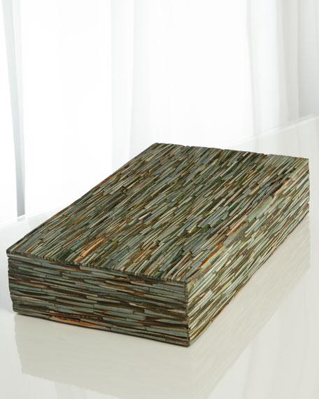 Chiseled Bone Large Box
