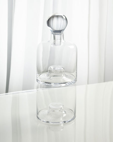 Double Stacking Decanter