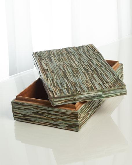 Chiseled Bone Small Box