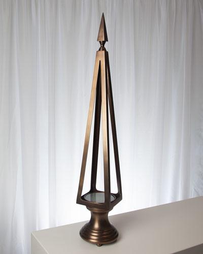 Bronze Open Obelisk