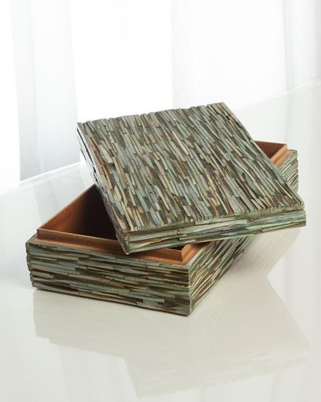 Chiseled Bone Medium Box