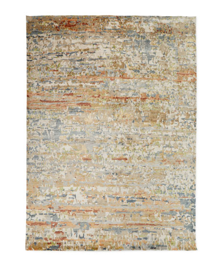 Jeffrey Hand-Knotted Area Rug, 10' x 14'