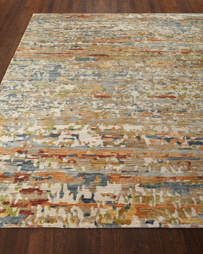 Jeffrey Hand-Knotted Area Rug  10' x 14'