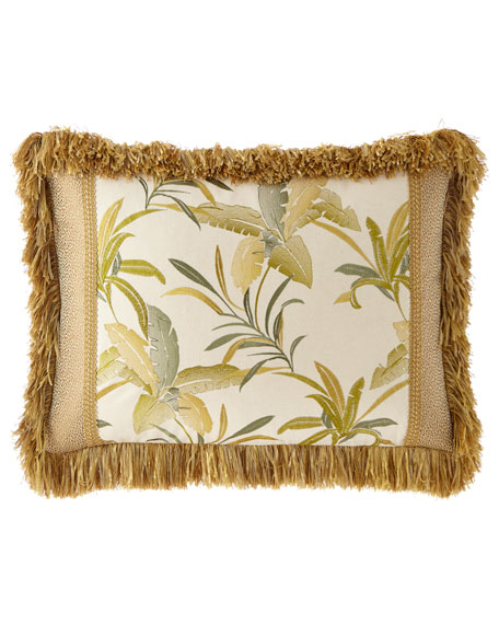 Botanical Pieced Standard Sham