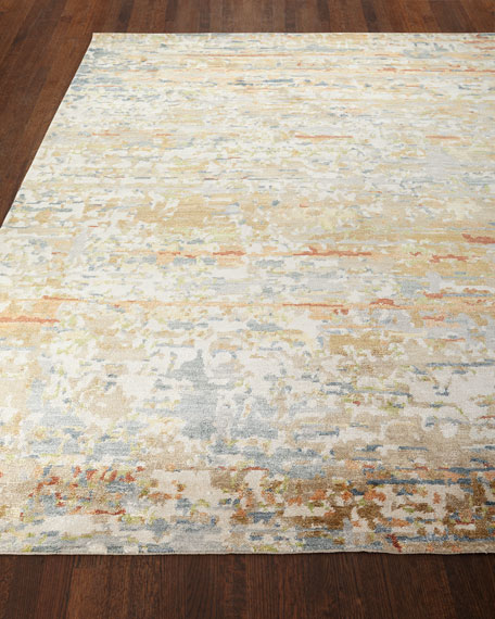 Jeffrey Hand-Knotted Area Rug, 6' x 9'