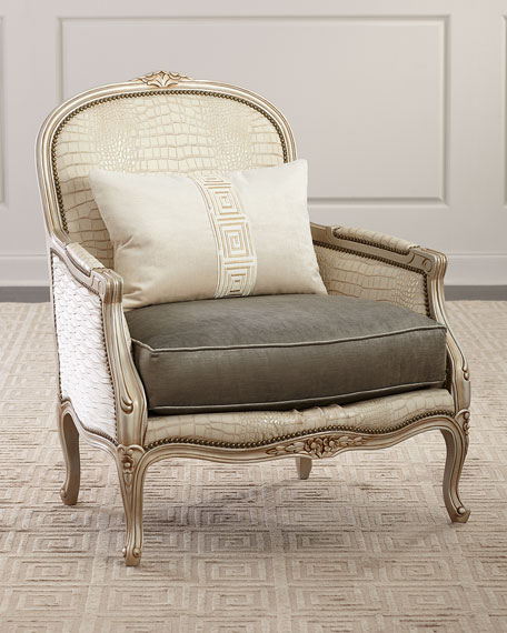 Massoud Garance Bergere Chair