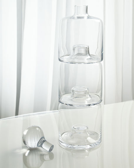 Triple Stacking Decanter