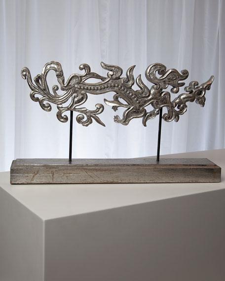 Global Views Staffordshire Dragon Sculpture