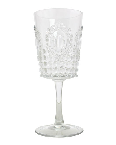 Jewel Melamine Wine Glass