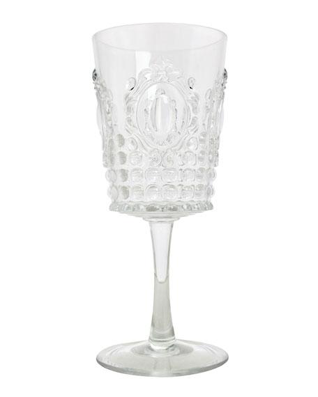 Le Cadeaux Jewel Melamine Wine Glass