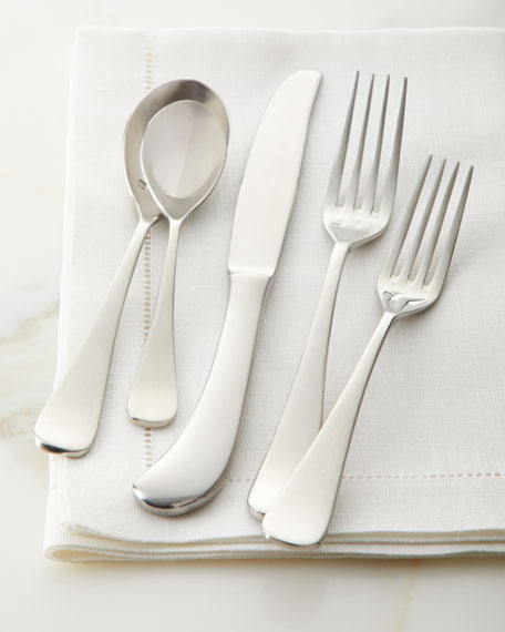 20-Piece Brushed Mariposa Flatware Service