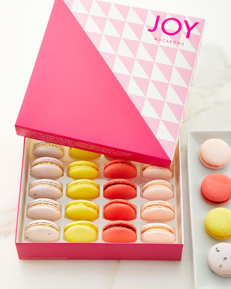 JOY Macarons Fruit and Florals Macarons Assortment