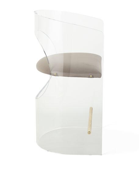 Corin Acrylic Counter Stool