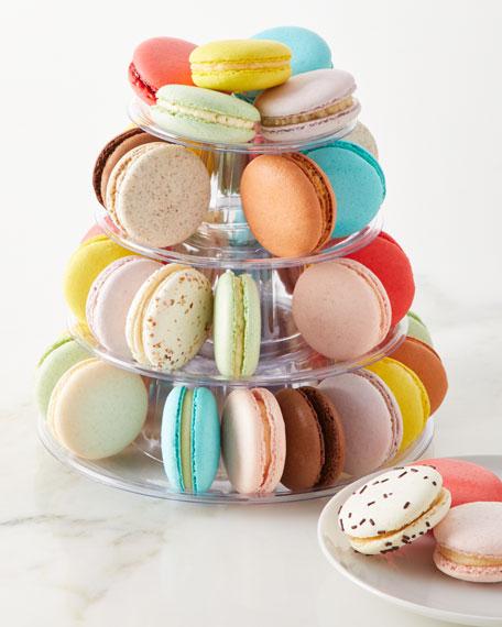 4-Tier Macaron Tower