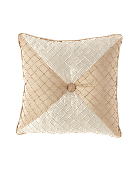 Austin Horn Collection Elegance Mitered Pillow, 20