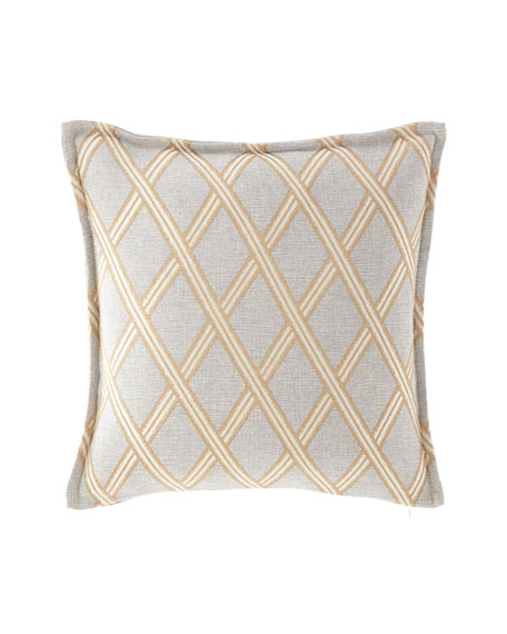 "Elegance Pillow, 20""Sq."