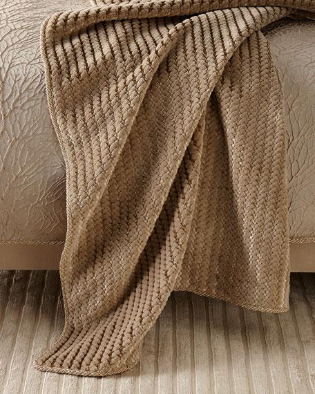 Vista Creek Plush Throw Blanket