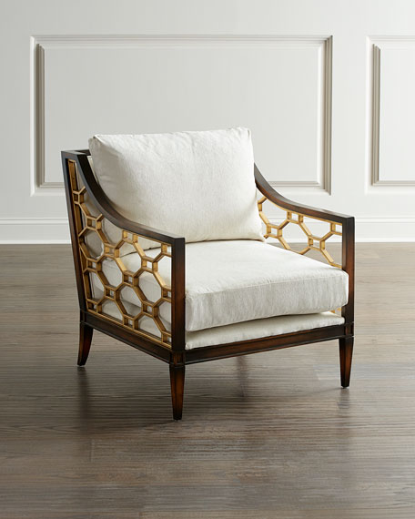 John-Richard Collection Belden Place Honeycomb Chair