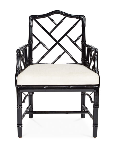 Jonathan Adler Chippendale Arm Chair
