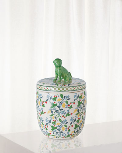 Crewel Summer Jar