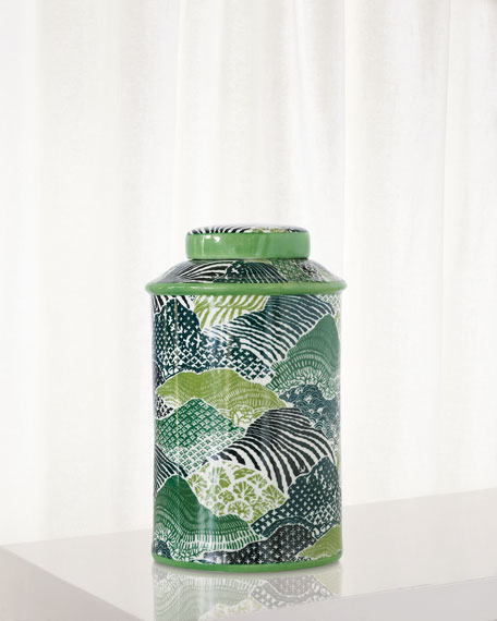 Windsor Park Green Jar