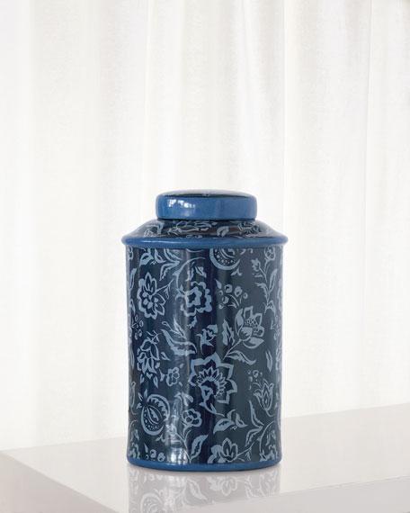 Rokeby Road Blue Jar