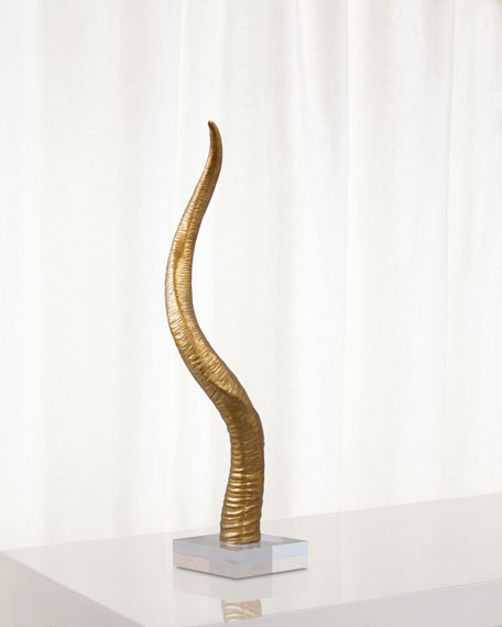 Safari Gold Sculpture