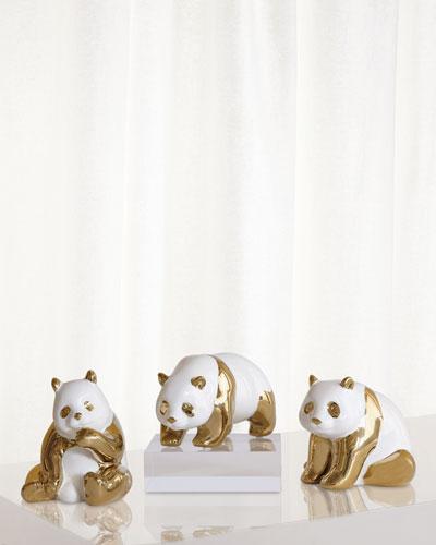 Panda Objects  Set of 3