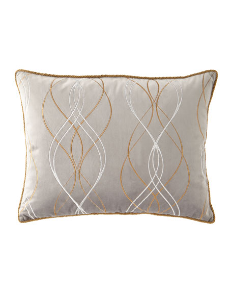 Dian Austin Couture Home Rialto Velvet Embroidered King