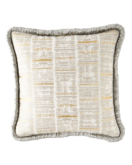 Rialto Linear Boutique Pillow with Piping
