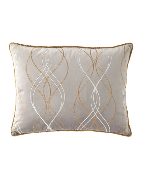 Rialto Velvet Embroidered Standard Sham