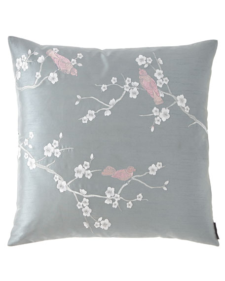Chinoiserie Square Pillow