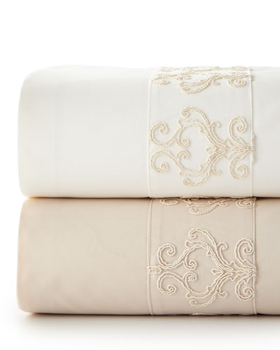 Elizabeth Lace King Sheet Set
