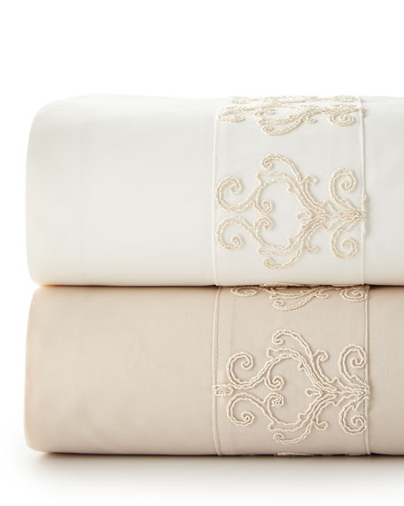 Elizabeth Lace California King Sheet Set