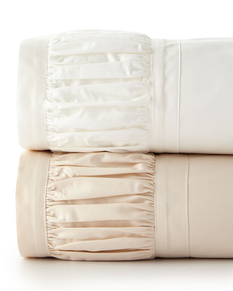 Ruched King Sheet Set