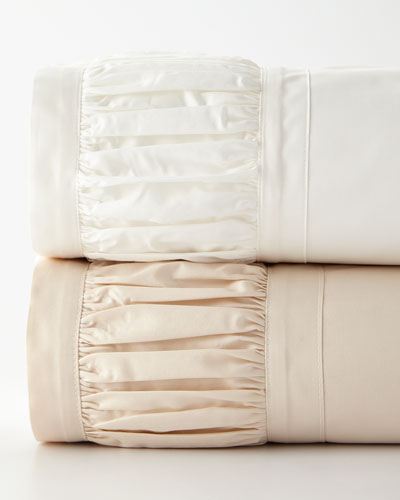 Ruched Full Sheet Set