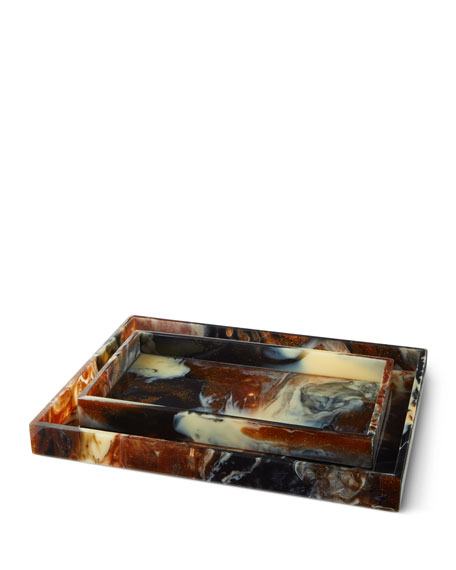 Kokomo Rectangular Trays, Set of 2